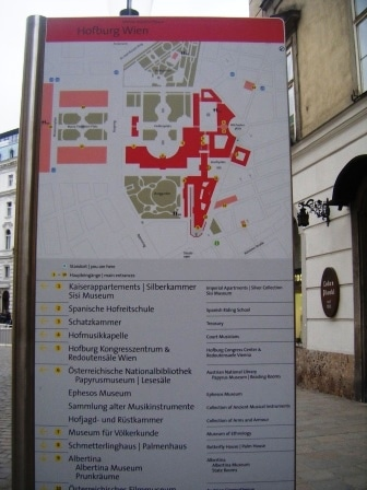 Viyana Hofburg Sarayı 1