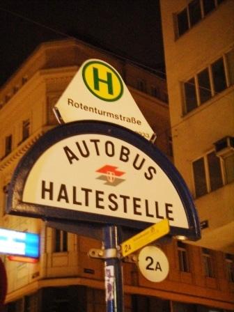 Viyana Ulasım otobüs