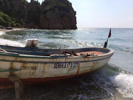 Gelibolu Komur Limani Tekne 1