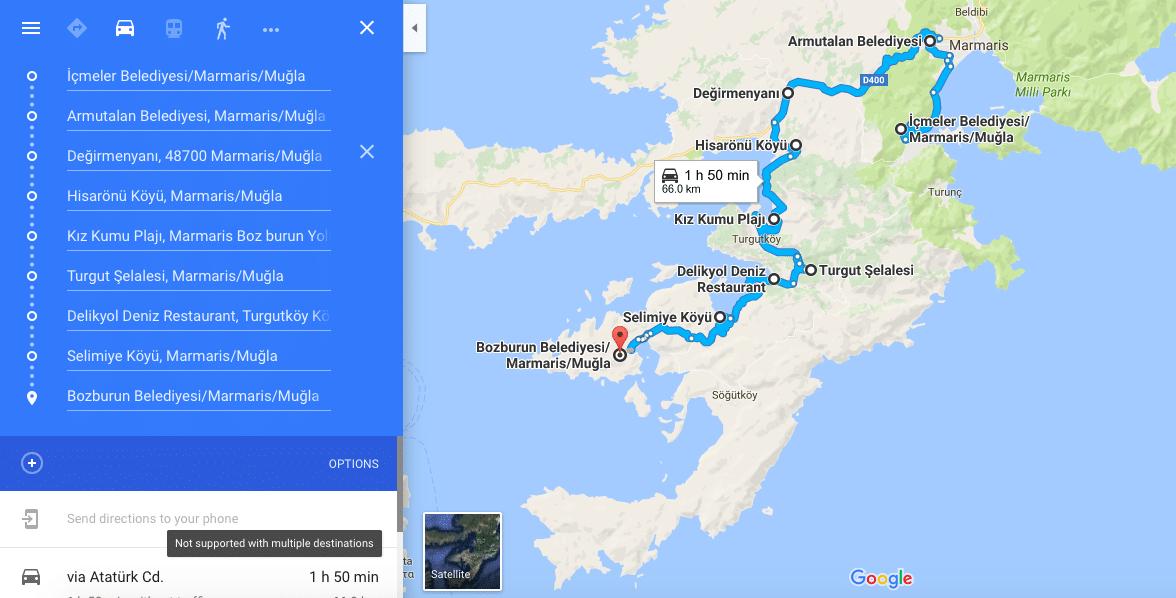 marmaris-selimiye-bozburun-harita