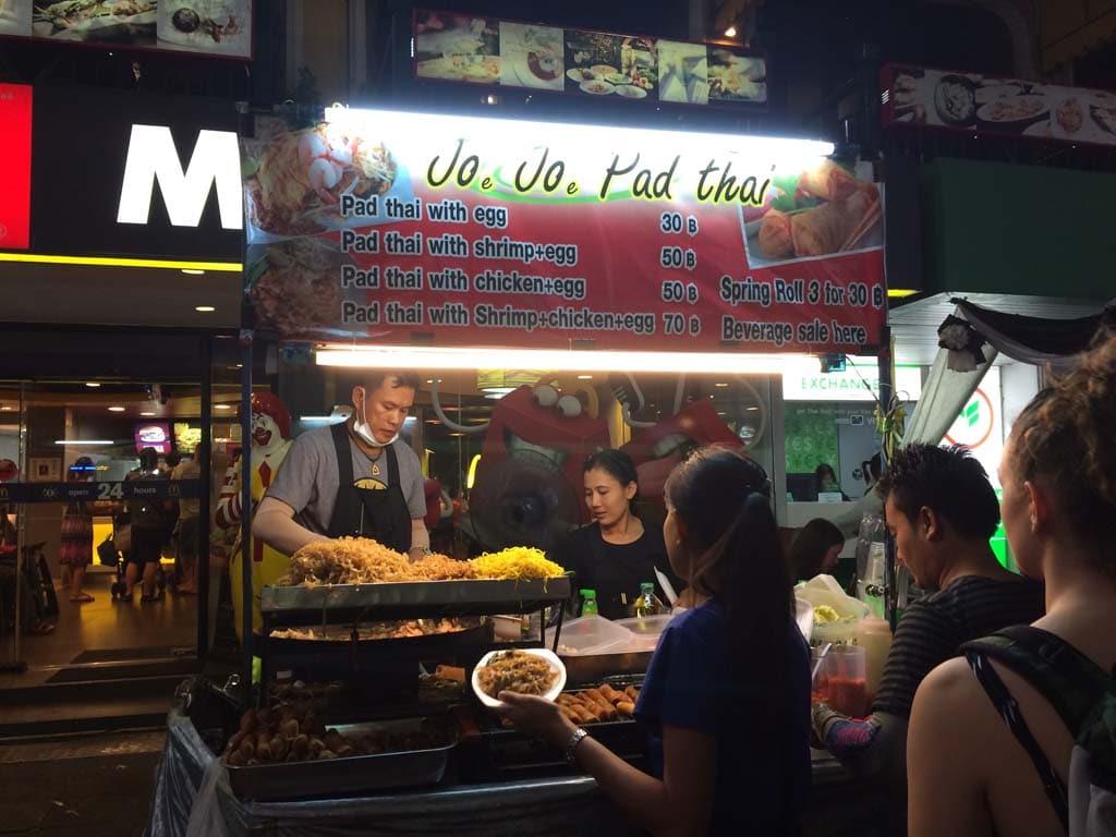 Bangkok sokak Yemekleri 10
